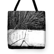 Grave Western Nevada  Tote Bag