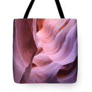 Graved Sandstone Of Antelope Canyon Tote Bag