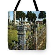 Graveyard Art Tote Bag