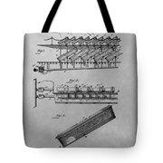 Graveyard Patent Tote Bag