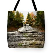 Laughing Whitefish Falls Tote Bag