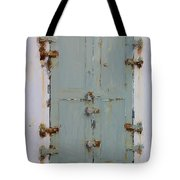 Gray And Rusted Tote Bag