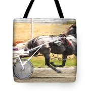 Gray In The Air Tote Bag