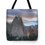 Gray Rock And South Gateway Rock Garden Tote Bag