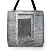 Gray Window Tote Bag