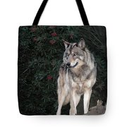 Gray Wolf Endangered Species Wildlife Rescue Tote Bag