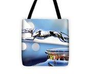 Grayhound Glamour Tote Bag