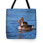 Graylag Goose Tote Bag