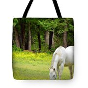 Grazing In Golden Fields Tote Bag