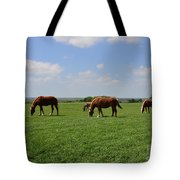 Grazing In The Field Tote Bag