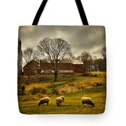 Grazing North South East And West Tote Bag