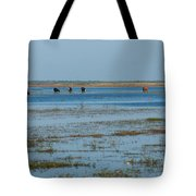 Grazing The River Tote Bag