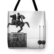 Great Alexander Greece Tote Bag