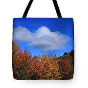 Great Balsam Mountains In The Fall Tote Bag