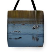 Great Blue Dance Tote Bag