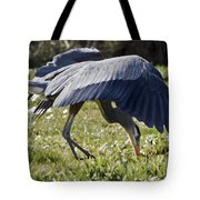 Great Blue Dining Out Tote Bag
