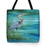 Great Blue Heron-2a Tote Bag