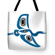 Great Blue Heron Contemporary Tote Bag