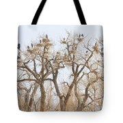 Great Blue Heron Hangout Tote Bag