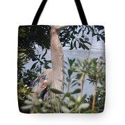 Great Blue Heron II Tote Bag