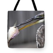 Great Blue Heron - Just Fred Tote Bag