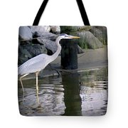 Great Blue Heron - Mealtime Tote Bag