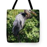 Great Blue Heron Vii Tote Bag