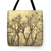 Great Blue Herons Colonies Fine Art Tote Bag