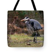 Great Blue On The Clinch River IIi Tote Bag
