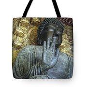 Great Buddha Of Nara Japan Tote Bag