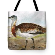 Great Bustard Tote Bag
