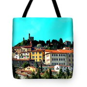Great Day In The Village Tote Bag