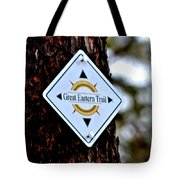 Great Eastern Trail Marker Tote Bag