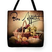 Great Eating Tote Bag by Lourry Legarde
