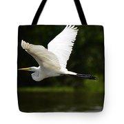 Great Egret Amazon River Tote Bag