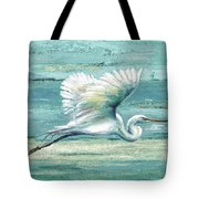 Great Egret I Tote Bag