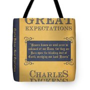Great Expectations By Charles Dickens Book Cover Poster Art 1 Tote Bag