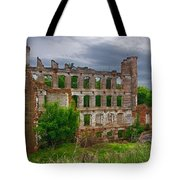 Great Falls Mill Ruins Tote Bag