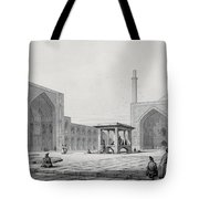 Great Friday Mosque In Isfahan Tote Bag