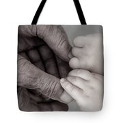 Great Grandpa's Touch Tote Bag
