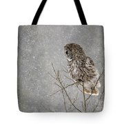Great Grey Hunter Tote Bag