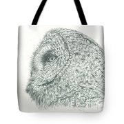 Great Grey Owl Tote Bag