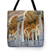 Great Hall Of The Library Of Congress  Tote Bag