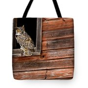 Great Horned Tote Bag
