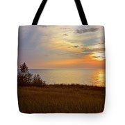 Great Lake Great Sunset Tote Bag