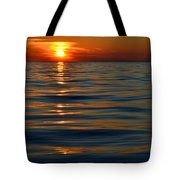 Great Lake Sunset Tote Bag