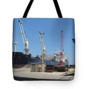 Great Lakes Ship Polsteam 3 Tote Bag