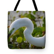 Great Lights Up The Greens Tote Bag