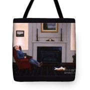 Great Minds Think Alike Tote Bag