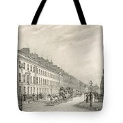 Great Pultney Street, Bath, C.1883 Tote Bag